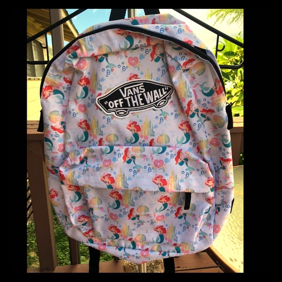 766b8f699b7 Vans Bags | Disney X Ariel Backpack | Poshmark